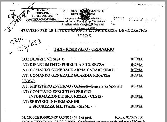 Documento desecretato 2