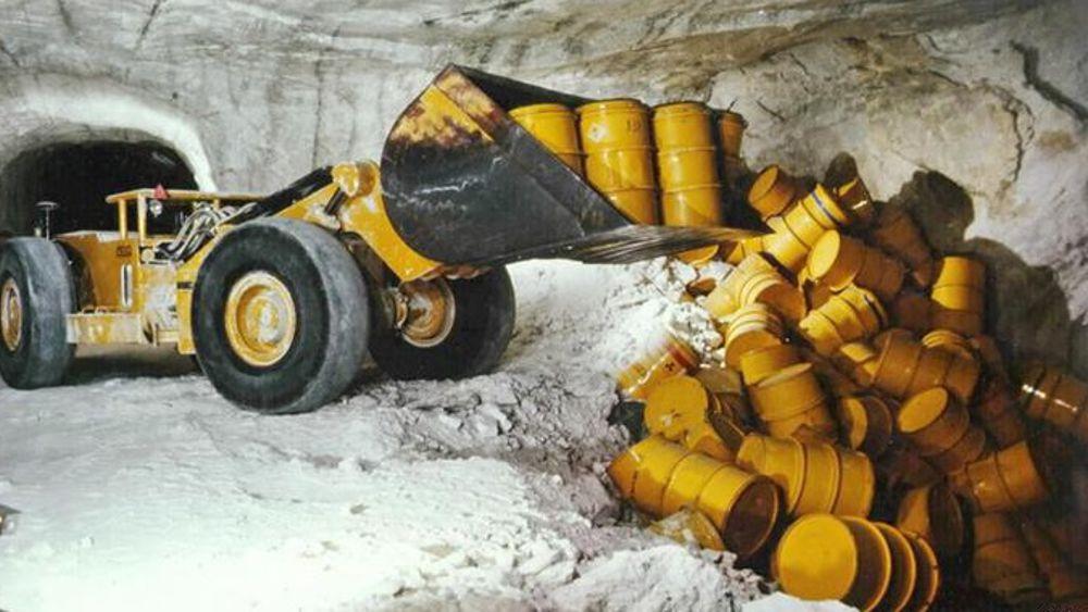 scorie radioattive bunker-2